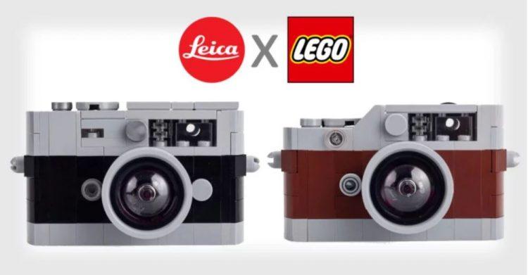 用Lego组成的Lego LEICA相机!Lego迷的福音!