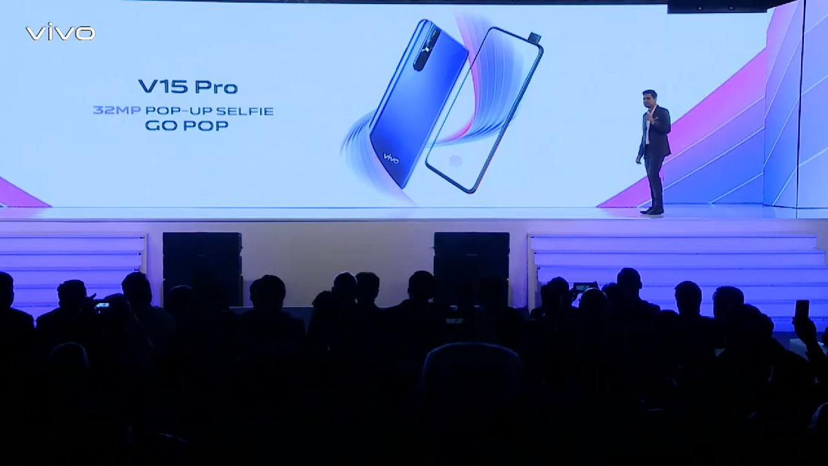 Vivo V15 Pro正式发布!全球首个32MP升降式前置摄像头!售价约RM1658!