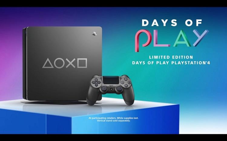 SONY推出全新PS4 Slim限量版款式——Days of Play!内置1TB的硬碟容量!