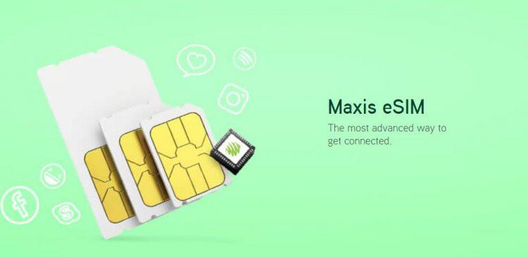 无需再用实体SIM卡!不必带着SIM卡到处走的Maxis eSIM来了!