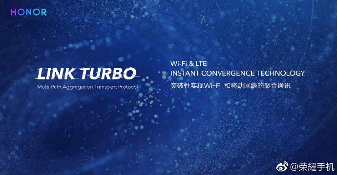 HONOR 最新技术Link Turbo,以后可以更安心吃鸡打王者了!