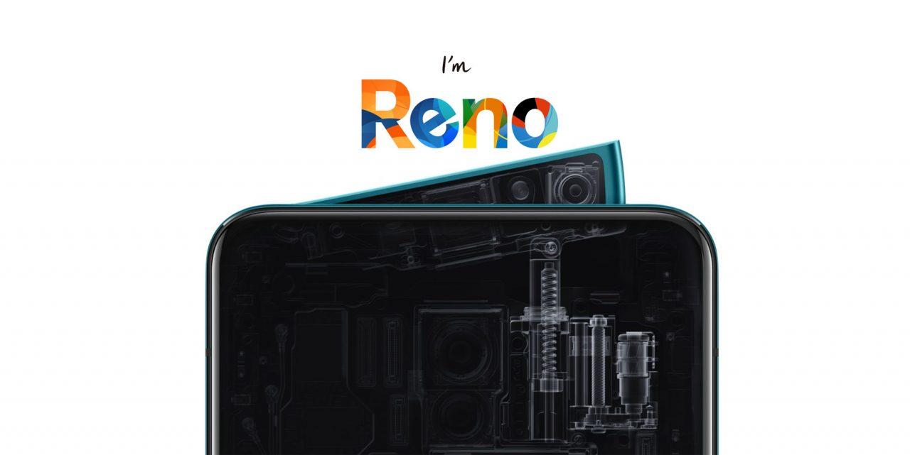 OPPO官方宣布OPPO Reno系列即将来马!Snapdragon 855处理器+支持10倍变焦光学技术!