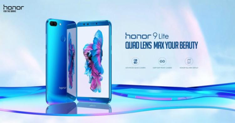 honor 9 Lite线上开卖6小时内售出2500台,创智能手机组新高!