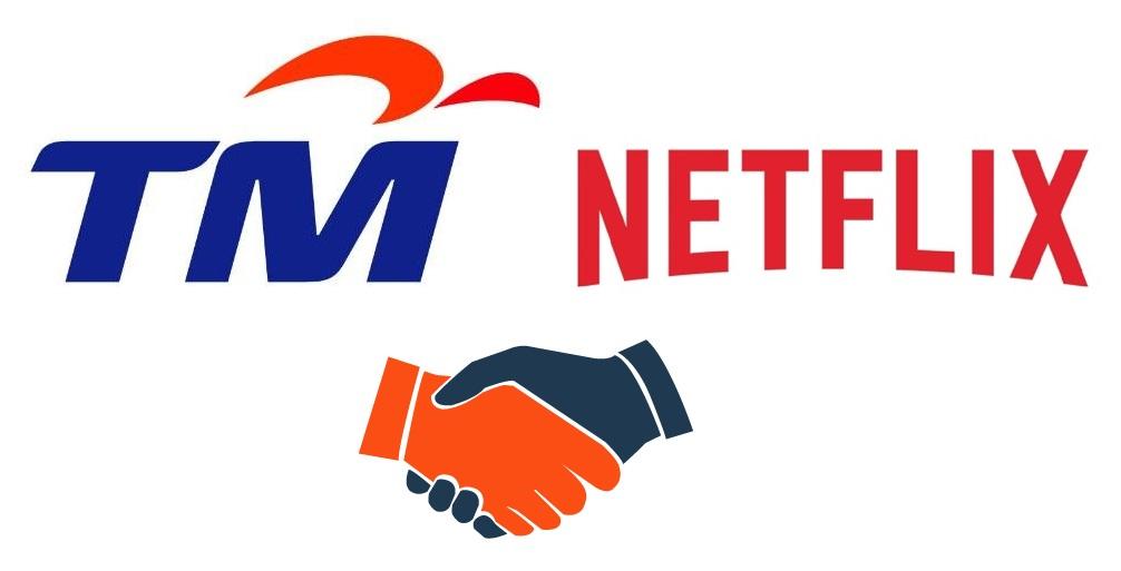 大马电讯TM宣布与Netflix合作!