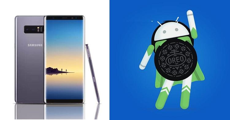 马来西亚Galaxy Note 8用户可以吃上Oreo啦!快快升级至Android 8.0吧!