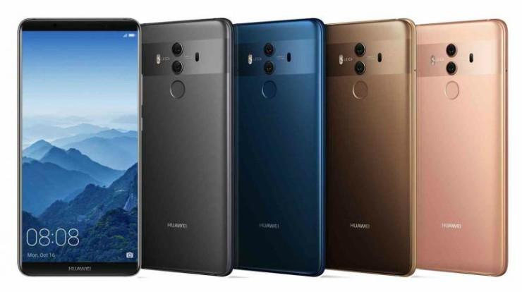 Forbes评选全球最佳手机:Huawei Mate 10 Pro夺冠!
