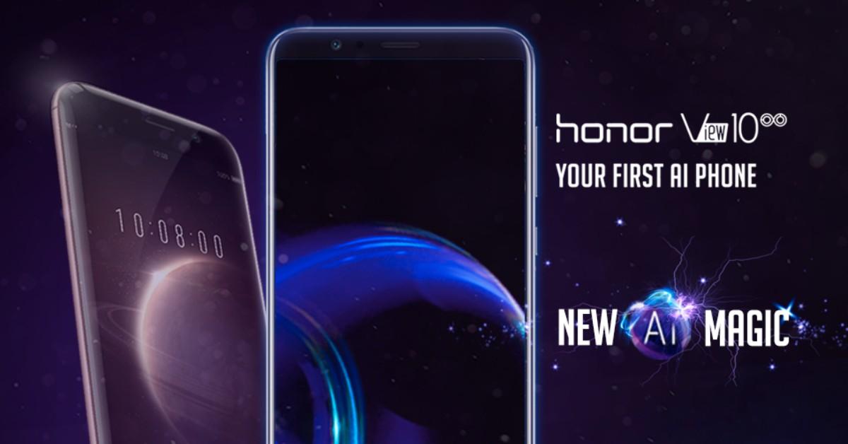 honor View 10 1月8日起以RM2099公开预售,再加上RM699独家赠品!