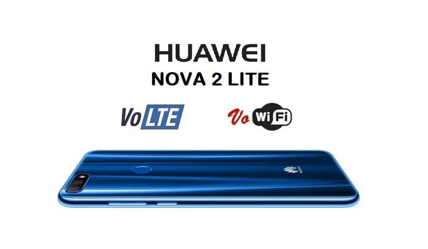 Huawei Nova 2 Lite现已支持VoLTE和VoWiFi!