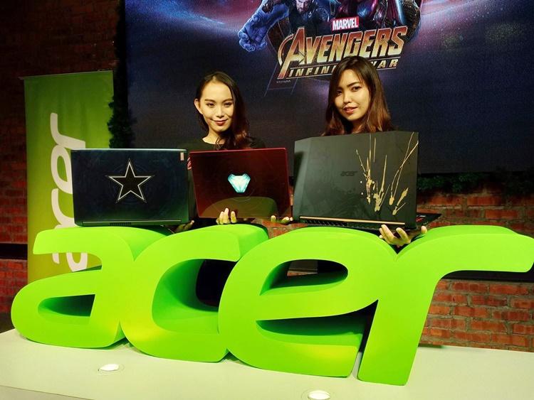 Acer带来全新3款Marvel Avengers系列主题笔电,售价RM3299起!