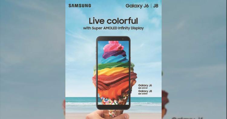Samsung发布Samsung Galaxy J8,售价RM999!另外Samsung Galaxy J6以RM749发售!