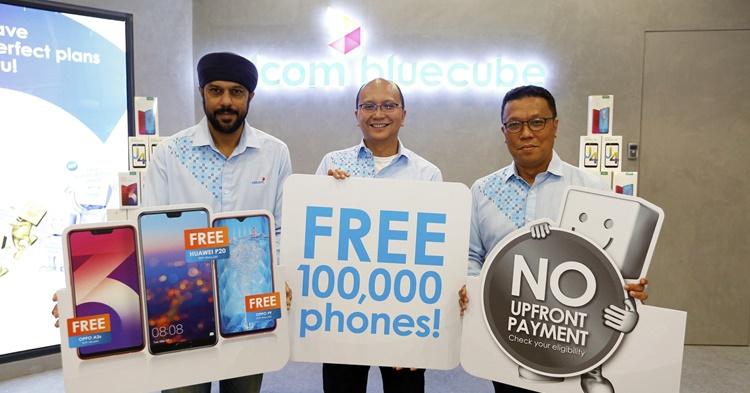 100,000部手机供选择!全部只在Celcom!