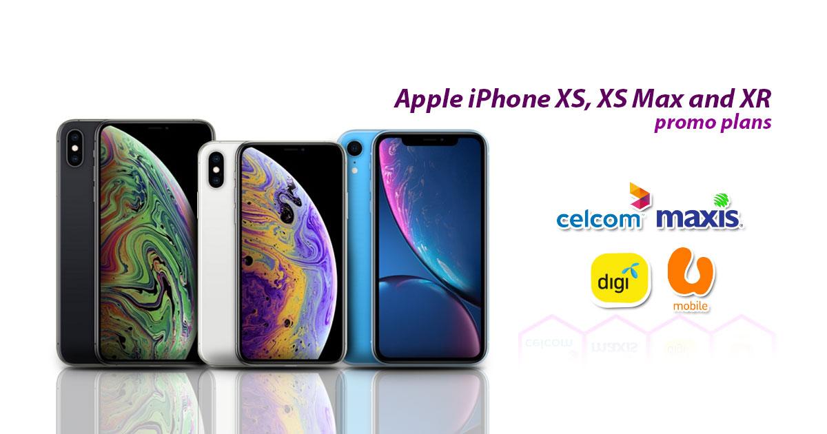 哪一个iPhone XS系列的配套最值得?对比大马电讯商的手机配套!