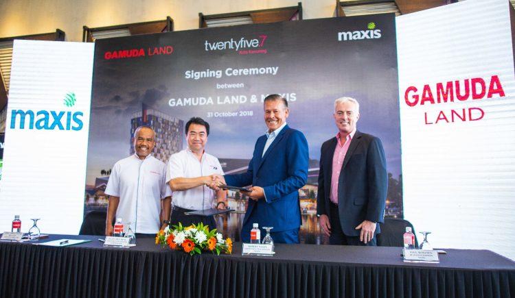 Maxis为Gamuda Land旗下的twentyfive.7现有用户提供高达300Mbps的网速!