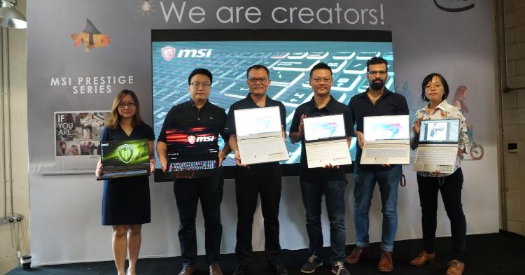 MSI同时发布多款高性能笔电!售价从RM3949起!