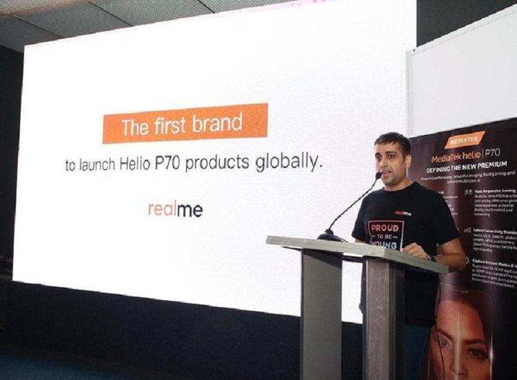 Realme将推出首款Helio P70手机!