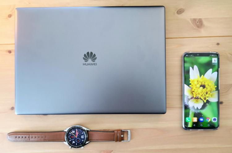 完整工作系列出击!Huawei Mate 20 Pro加上MateBook和Watch GT让工作体验更上一层楼!