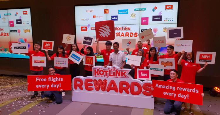 Hotlink宣布最新Hotlink Rewards将会每天提供奖励和特别折扣!