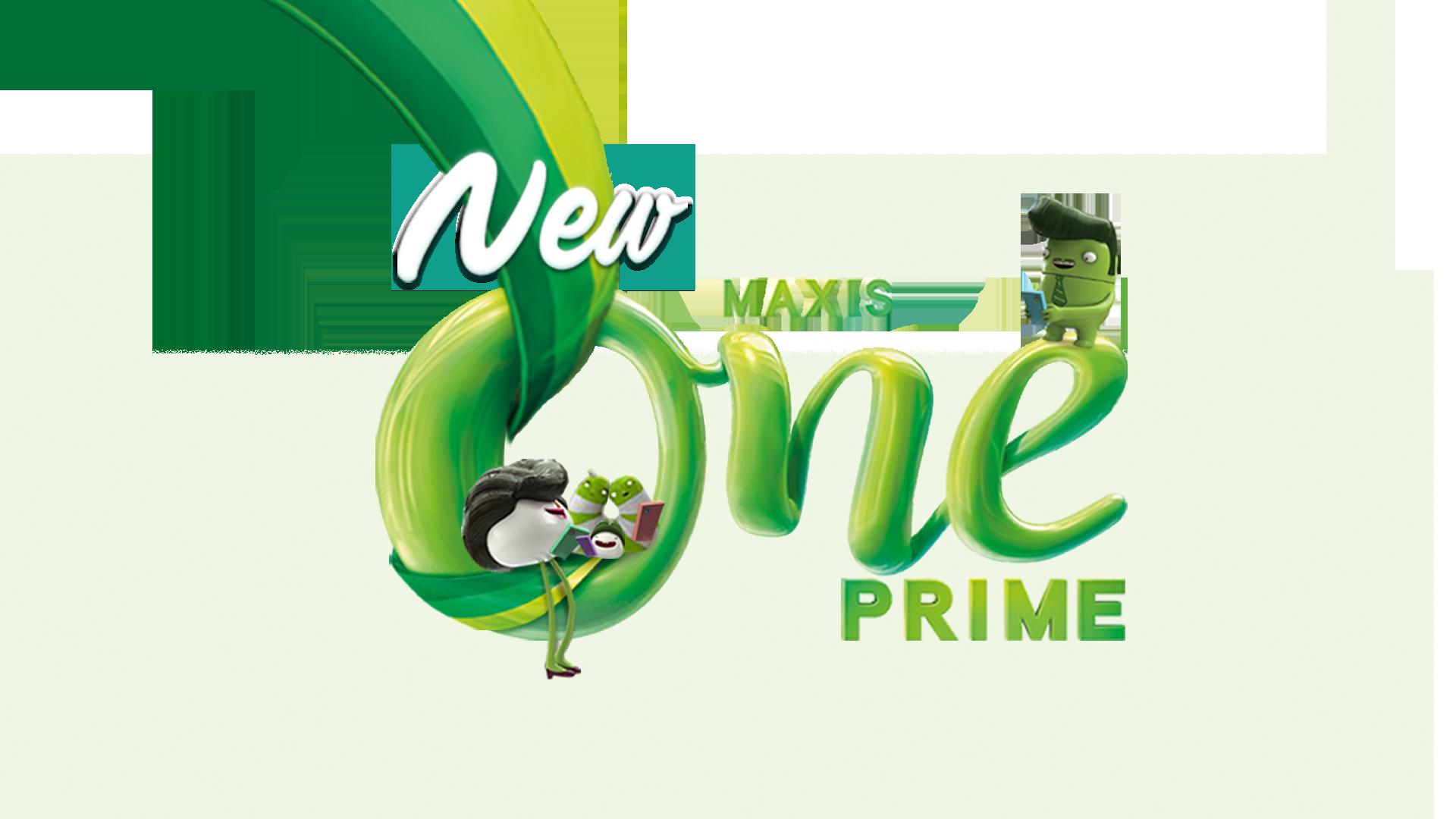 MaxisONE Prime现在为Mobile和Home Fibre Broadband配套提供无限网络数据!