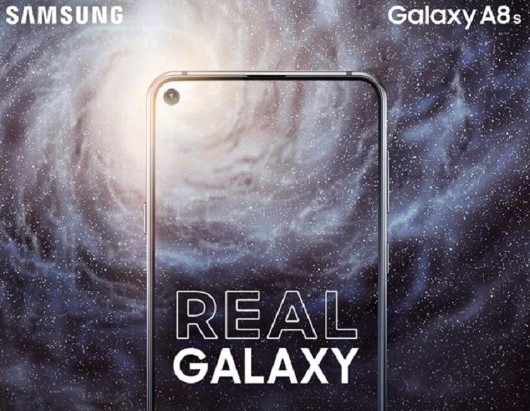 Samsung Galaxy A8s将在12月10日于北京发布!Infinity O全面屏来啦!