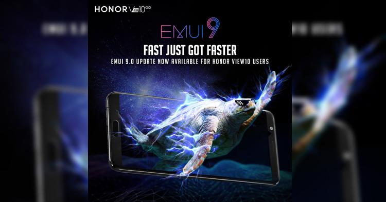 HONOR View 10,HONOR 10和HONOR Play的用户注意,EMUI 9.0正式在大马推出!