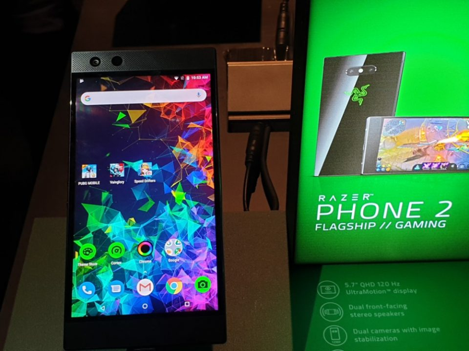 5.7寸 IGZO 120Hz显示屏、Razer Chroma RGB灯光效果、Vapor-Chamber Cooling散热系统、Snapdragon 845、IP67等,Razer Phone 2以RM3449的价格正式在大马发布!