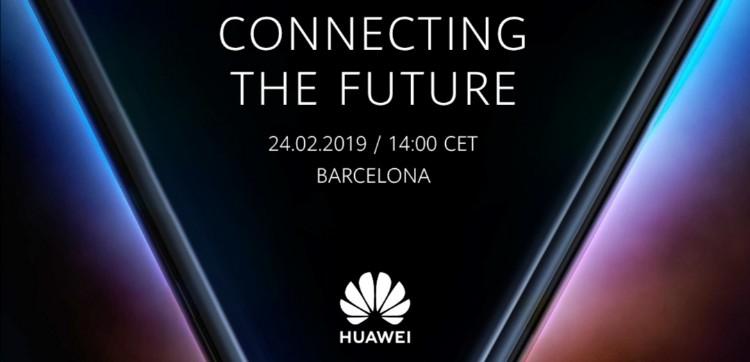 Huawei邀请函曝光!Huawei首款折叠手机即将到来?