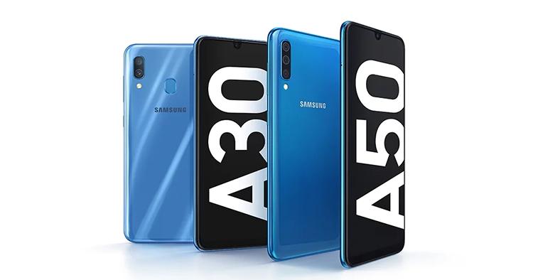 Samsung Galaxy A30和A50配置信息公布:Infinity-U显示屏+4000mAh!
