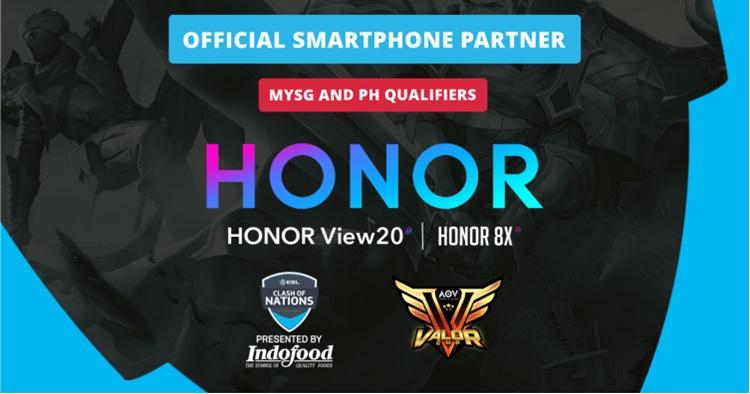HONOR成为Arena of Valor比赛的赞助商!奖金高达RM200,000!