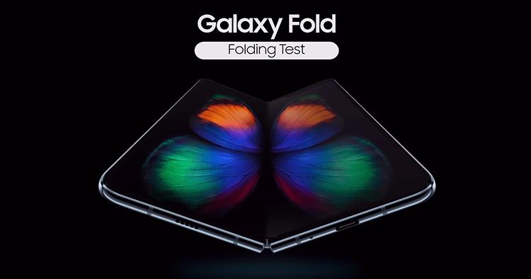 Samsung Galaxy Fold可反复折叠超过200,000次!
