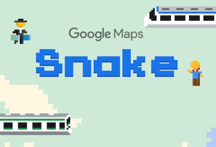 Google Map推出新游戏!让你用贪吃蛇玩遍全世界!