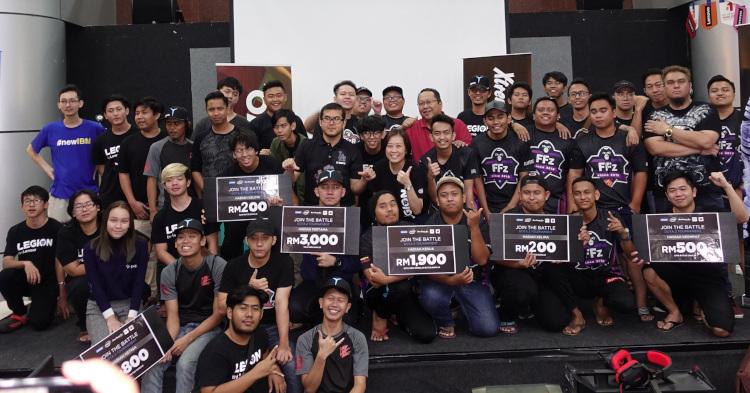 Lenovo Legion于东马举办了长达3天的游戏锦标赛!总奖金高达RM6600!