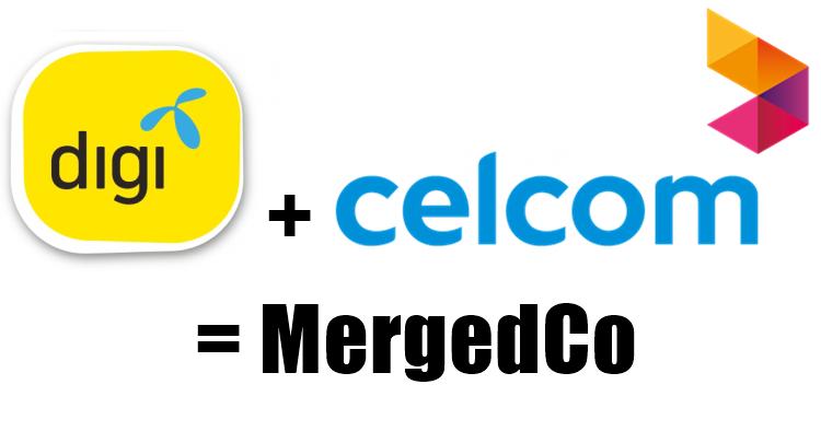 Celcom和Digi正式宣布合并!成为大马最大通讯公司!