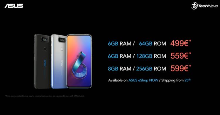 搭载翻转式镜头,ASUS Zenfone 6以售价RM2328起正式发布!