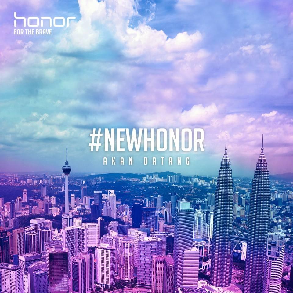还记得honor之前放出的海报吗?极有可能honor 10就快来马!