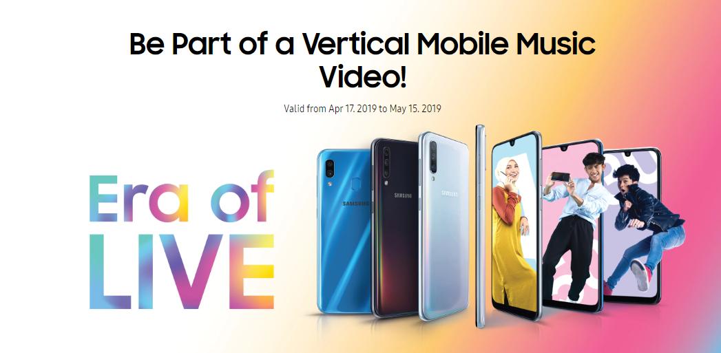 Samsung邀请你参与#EraofLIVE挑战!另有BlackPink周边产品等你来领取!