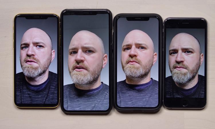 "iPhone XS/XR ""美颜""效果太多了!等待iOS 12.1 来解决!"