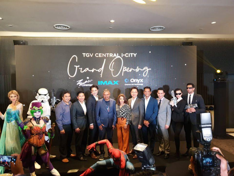 全马第3个Samsung ONYX Cinema LED戏院就在TGV Central i-City!据说还是全球最大?