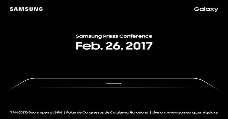 Samsung Galaxy Tab S3来了!全球最薄机身,仅仅5.6mm!2月26日在MWC 2017亮相!