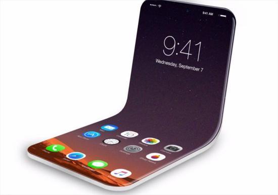 iPhone折叠手机专利图曝光:可向内向外折叠!