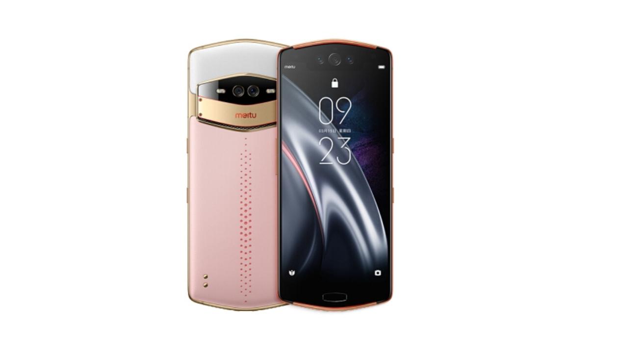 花园粉蝶配色的Meitu V7正式推出!前置三摄+Snapdragon 845!售价约RM2890!