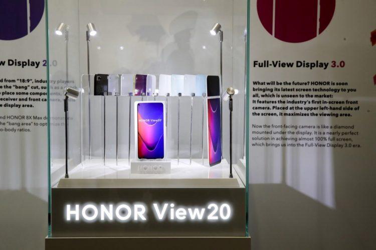 HONOR View 20将在明年1月22日正式发布!48MP摄像头+屏内摄像头!