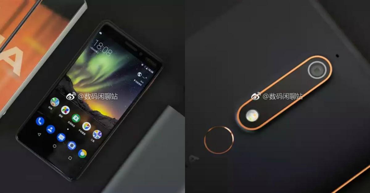 Nokia 6 2018真机照曝光,回归16:9传统比例?