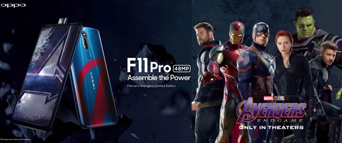 大马即将推出 OPPO F11 Pro Avengers 版本!