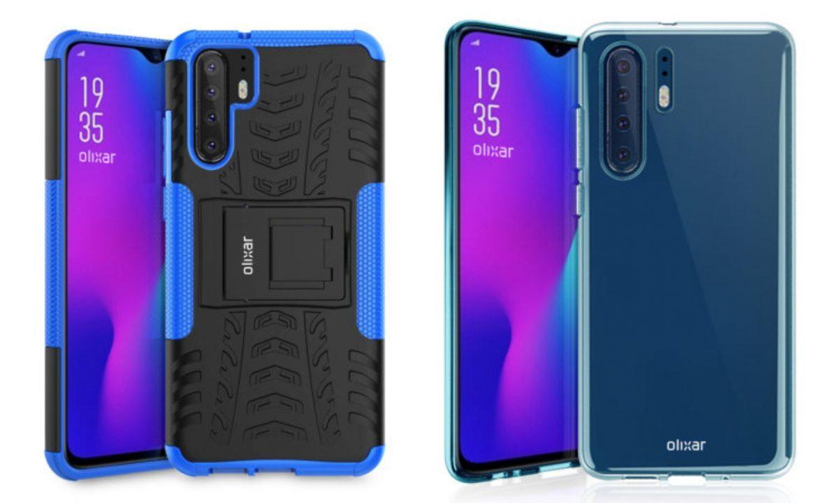 Huawei P30 Pro将会搭配4个摄像头?手机保护壳渲染图出现啦!