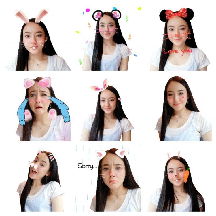Huawei推出全新的Hannah Delisha GIF Stickers!仅限于Huawei nova 3系列!