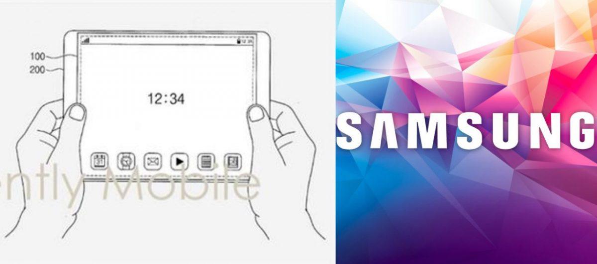 Samsung最新屏幕专利曝光!扩展屏幕居然是用拉的?