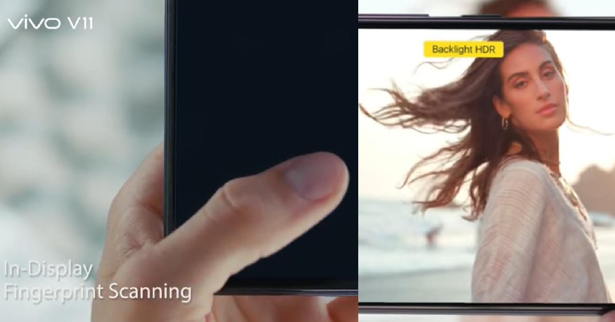 vivo V11集前卫功能于一身!屏下指纹、双引擎充电及AI拍摄只需RM1699!