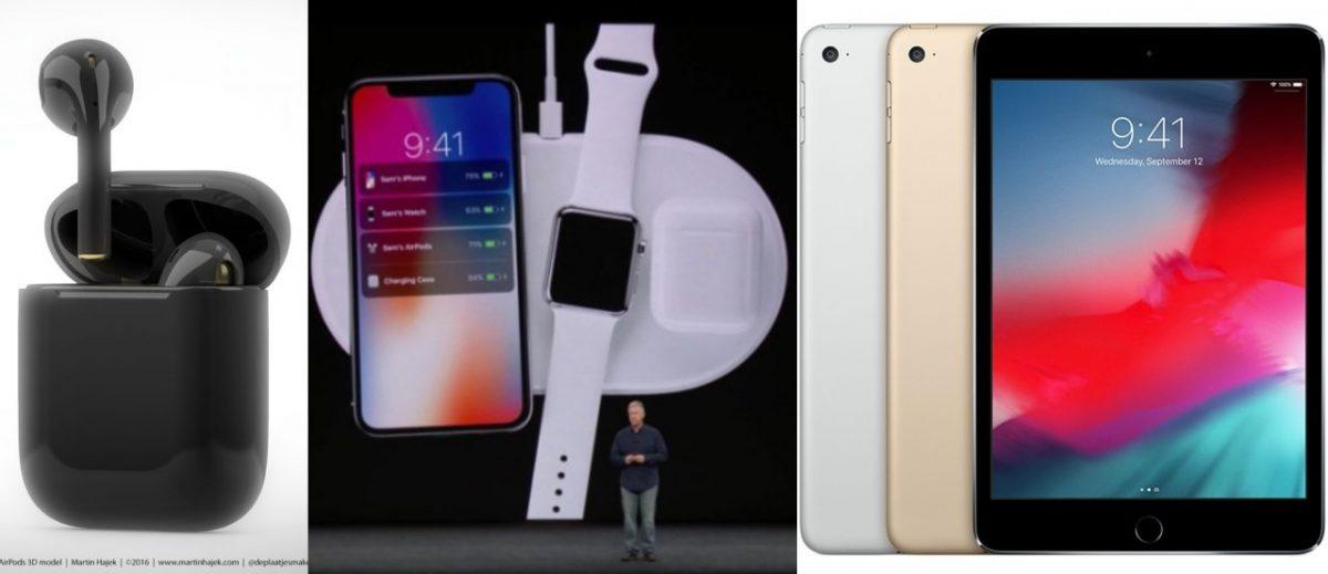 Apple将在3月底举办发布会!第2代AirPods、AirPower和iPad mini 5来了?
