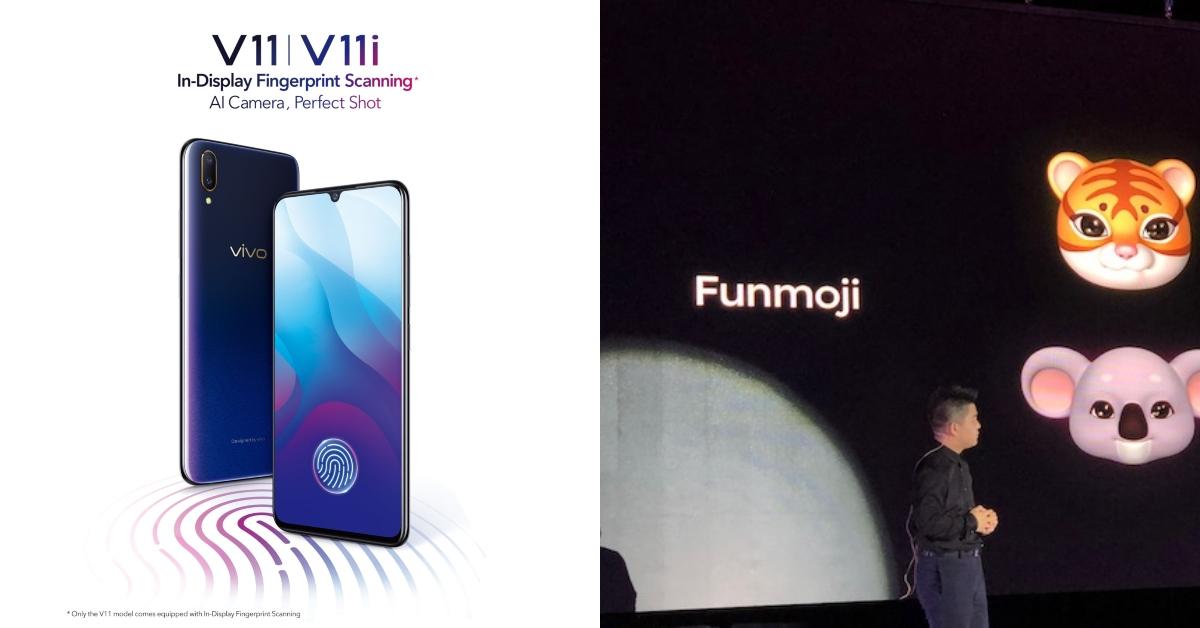 vivo V11前置25MP自拍镜头,加上AI智能美颜和Funmoji虚拟贴图,让自拍更有趣!