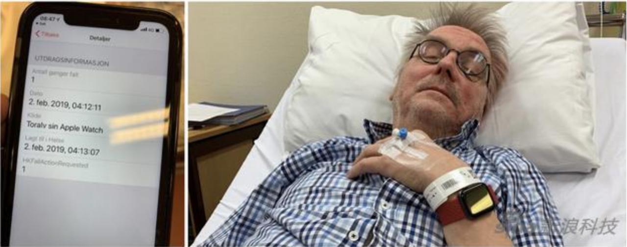 一名67岁的男子在意外事故中全靠Apple Watch新功能成功获救!